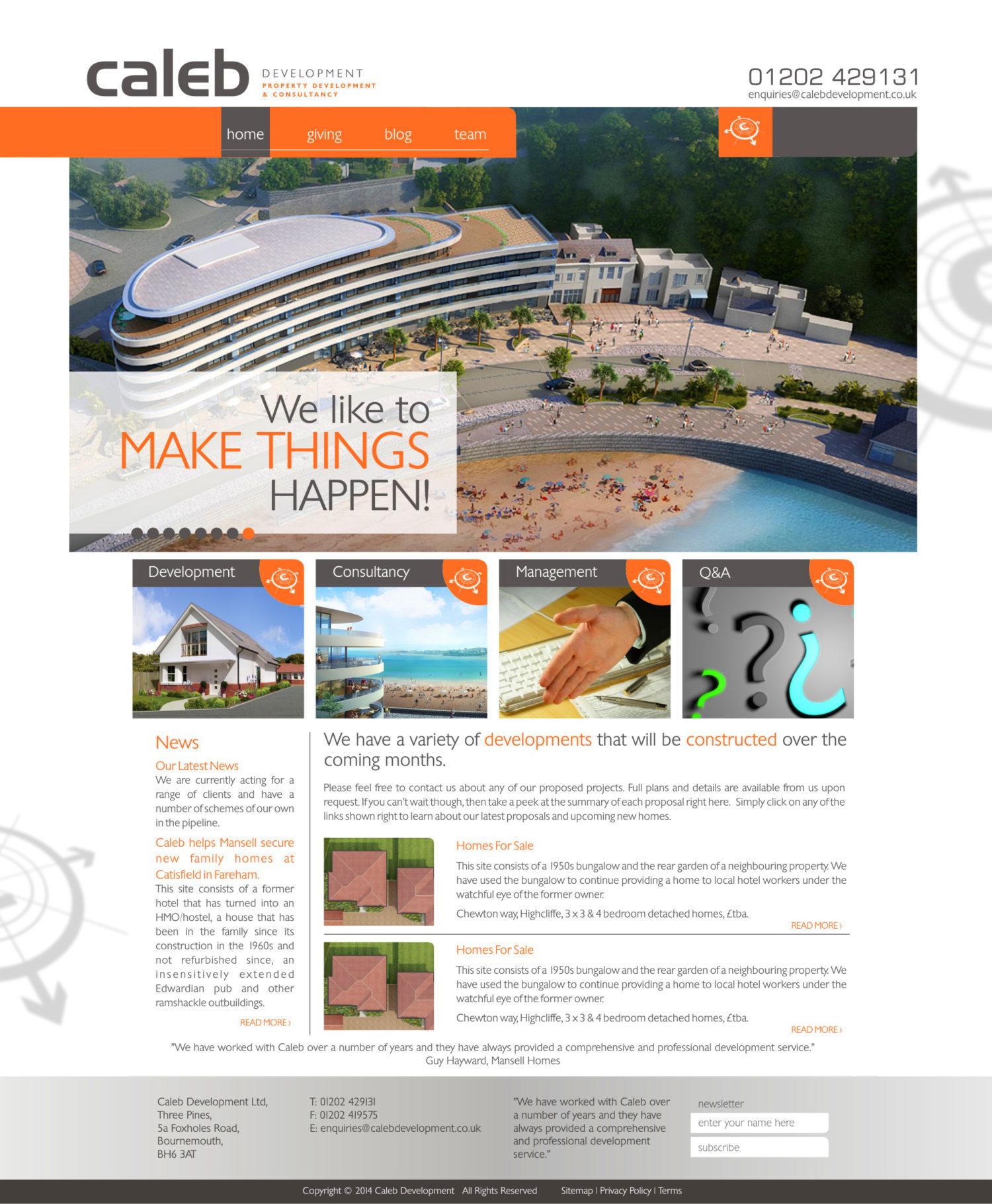 Caleb Website