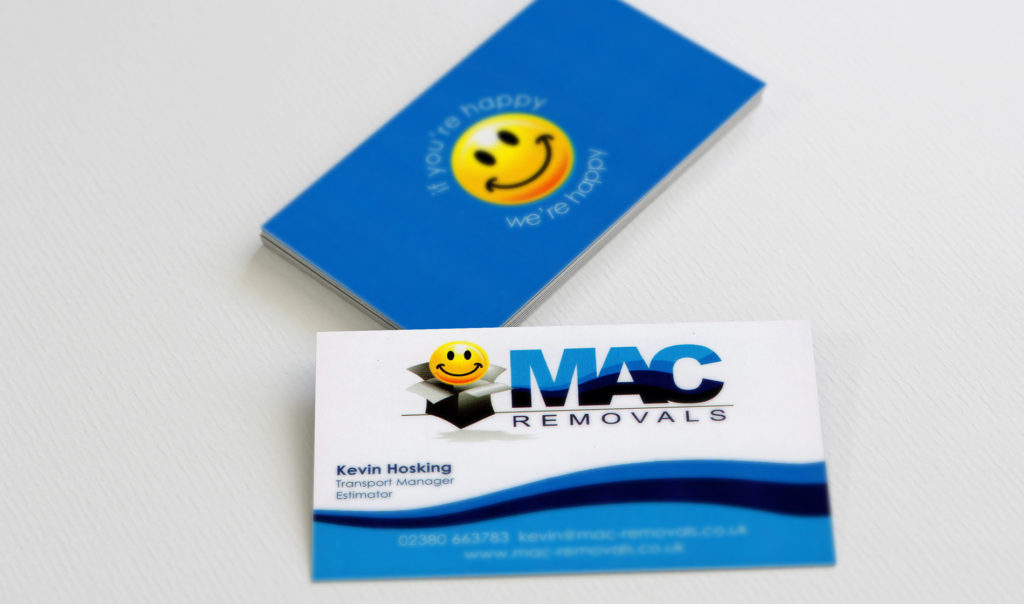 MAC Removals logo and branding