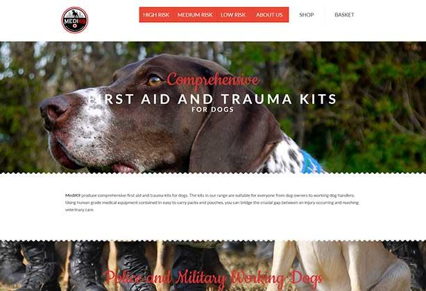 MediK9-website