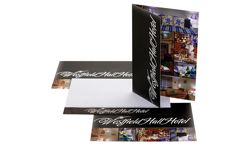 Westfield Hall Hotel branding, website and brochures