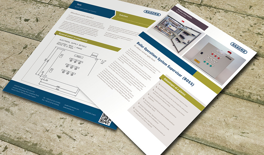 A4 Sales Product Flyer