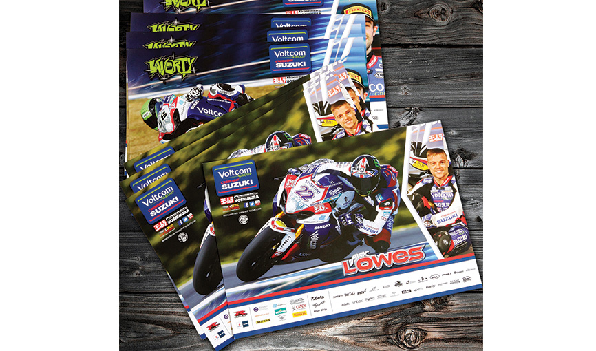 Suzuki World Superbikes Flyers and Posters