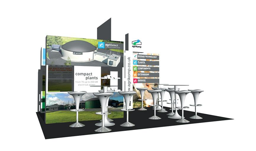 agriKomp CGI Expo Design