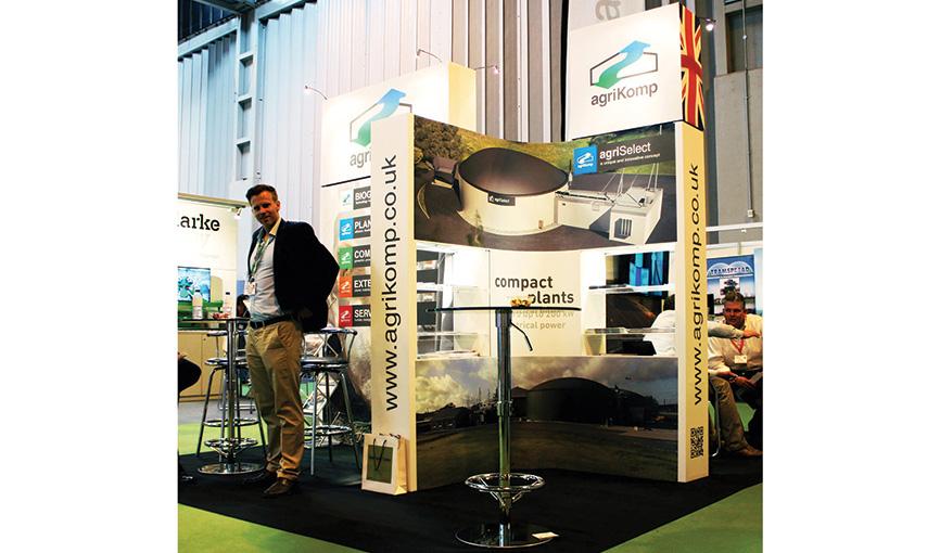 agriKomp Expo Branding